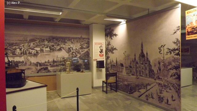 Budapesta in timpul expozitiei Mileniului