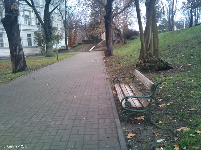 O banca in parc