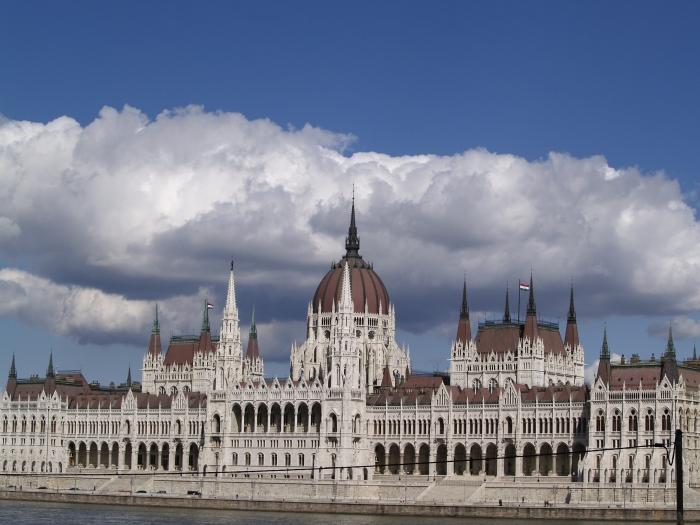 Parlamentul (dupa ce am coborit din Buda Castle)