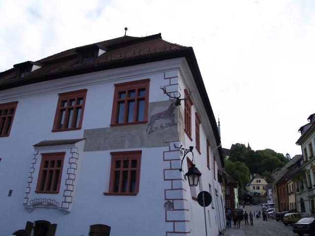 Casa cu Cerb, una dintre cele mai vechi cladiri din cetate