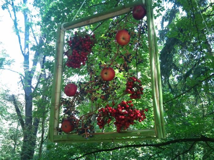 Ornament din fructe de toamna