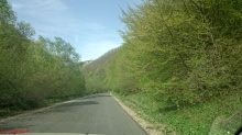 Drumul dinspre Cluj via Floresti - portiunea cu mai putine hartoape