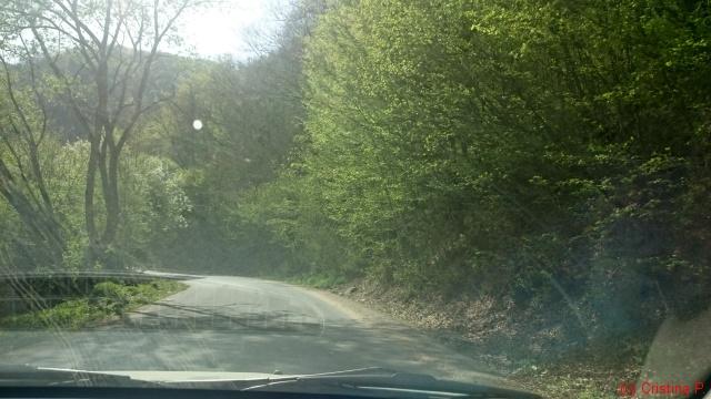 Drumul dinspre Cluj via Floresti
